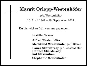 Zur Gedenkseite von Margit