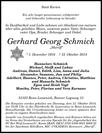 Zur Gedenkseite von Gerhard Georg