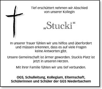 Zur Gedenkseite von Stucki
