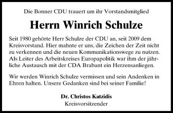 Zur Gedenkseite von Winrich